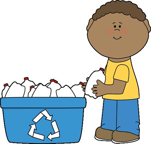 Boy Recycling Plastic Bottles Clip Art --Boy Recycling Plastic Bottles Clip Art - Boy Recycling Plastic .-1