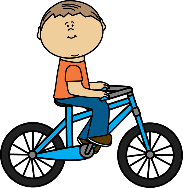 Boy With Bicycle Royalty Free