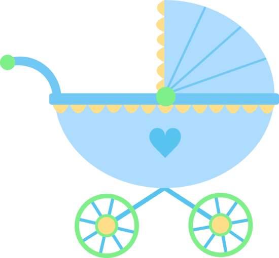 Boy Stroller Clipart