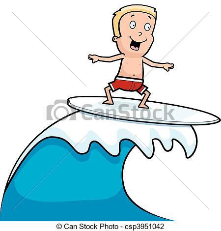 ... Boy Surfing - A Happy Cartoon Boy Su-... Boy Surfing - A happy cartoon boy surfing and smiling. Boy Surfing Clip Artby ...-0