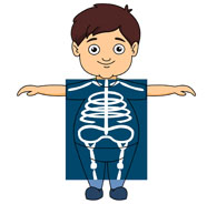 Boy Taking An X Ray-Boy Taking An X Ray-1