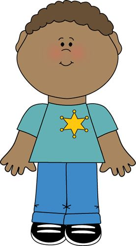 Boy Wearing Sheriff Badge clip art image. A free Boy Wearing Sheriff Badge clip art image for teachers, classroom projects, blogs, print, scrapbooking and ...