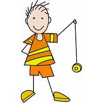 boy with yo-yo