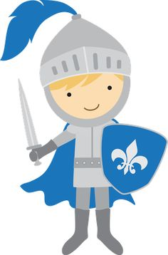 Boys knights on knight castles and color-Boys knights on knight castles and coloring pages clipart-6