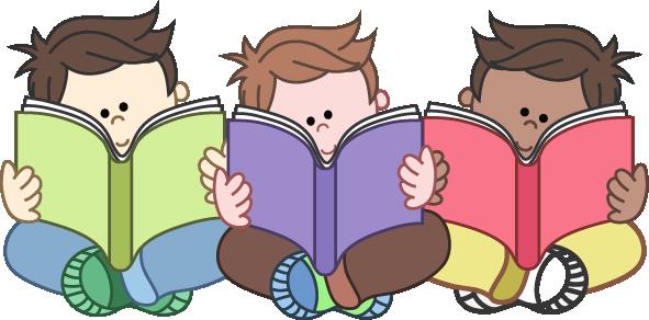 Boys Reading Group Clipart-Boys Reading Group Clipart-7
