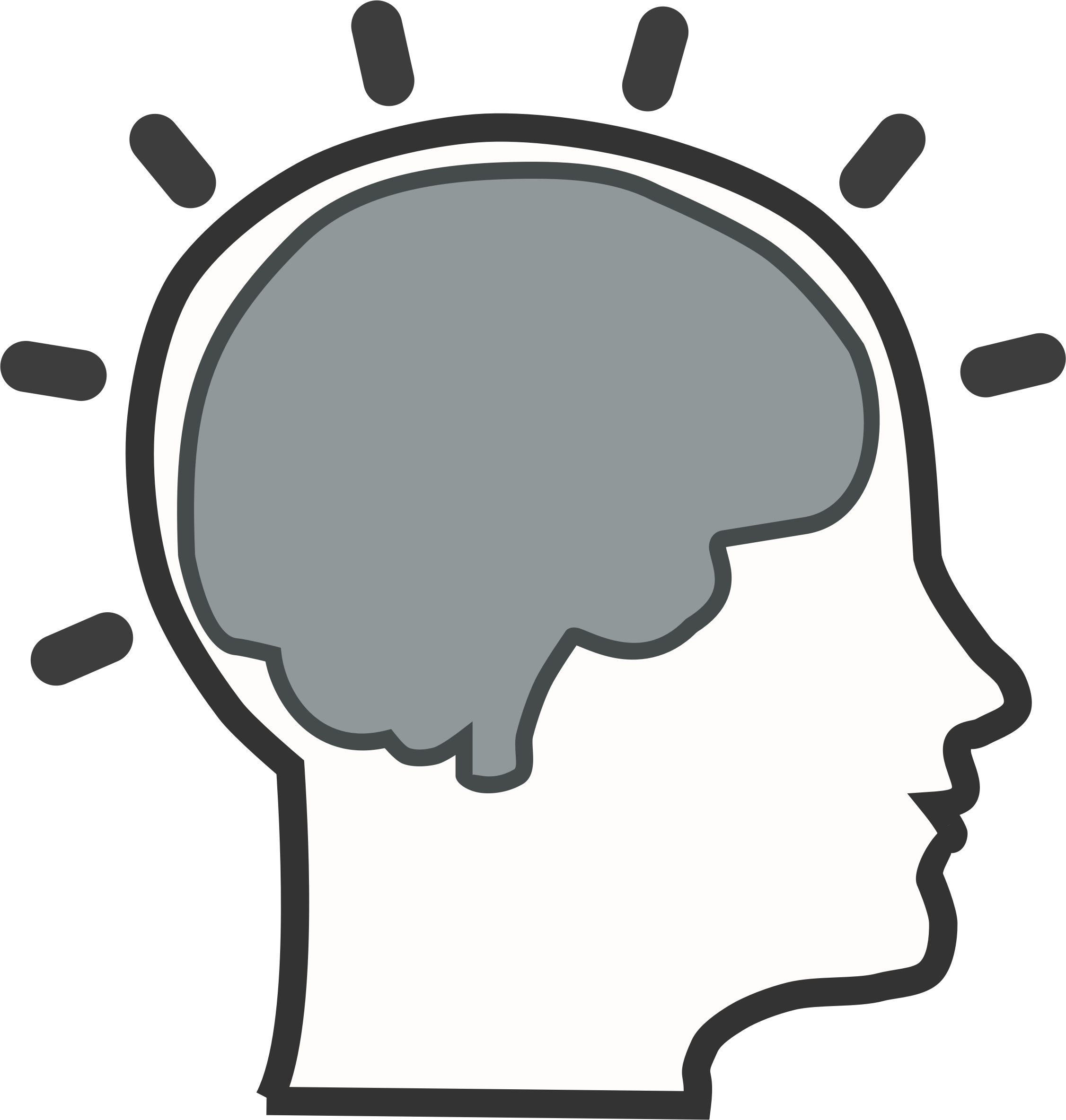 Brain clipart 4 2