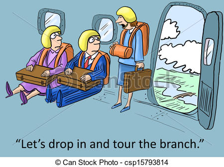 ... Branch Office - u0026quot;Letu0026#39;s drop in and tour the branch.u0026quot; Branch Office Clipartby ...