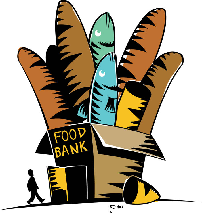 Bread Food Pantry Clipart
