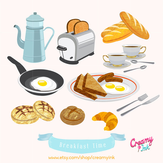 Breakfast Brunch Clip Art