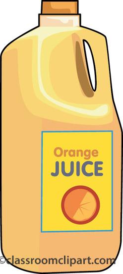 Breakfast Clipart Orange Juice 105 Classroom Clipart