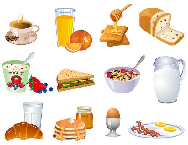 Breakfast Items Clipart .-Breakfast Items Clipart .-0