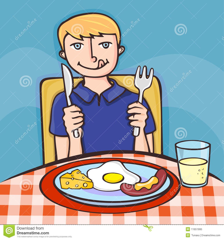 20+ Girl Eating Breakfa... Eating Breakfast Clipart ... (1300 x 1389 Pixel)