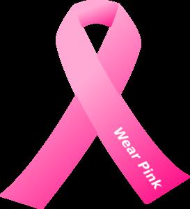 Breast Cancer Awareness Pink Ribbon Clip-Breast Cancer Awareness Pink Ribbon Clip Art-5
