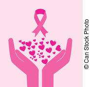 ... Breast cancer design over background, vector illustration Breast cancer Clip Art ...