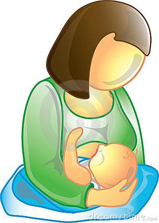 breast-feeding clipart