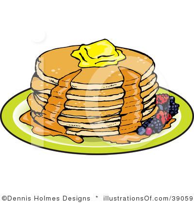 Brendan School Royalty Free Breakfast Cl-Brendan School Royalty Free Breakfast Clipart Illustration 39059-9