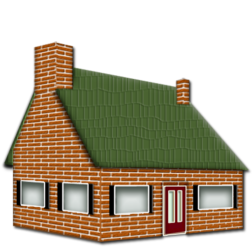 Brick House Clipart Free Clip Art Icons Of The