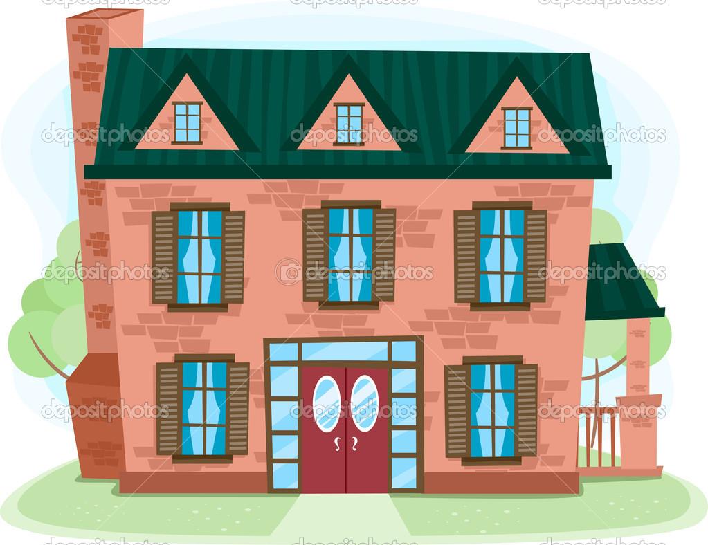 brick house clipart. House Made of Bricksu2014 .