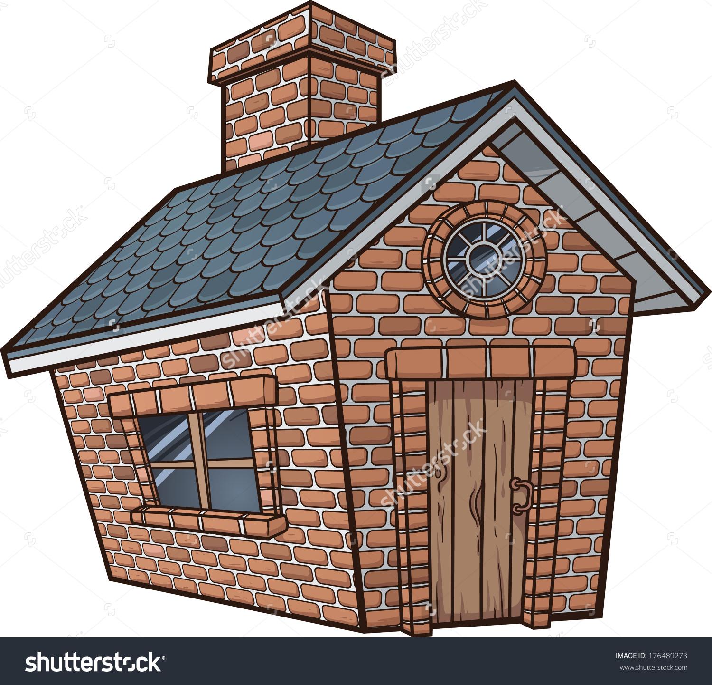 Brick house - csp10932867. Save to a lightbox