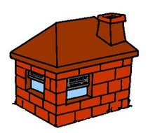 Brick House Three Little Pigs .