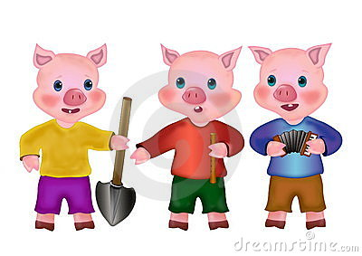 brick house three little pigs