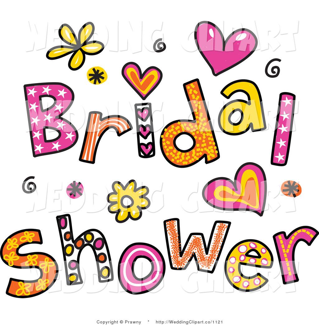 bridal shower clipart
