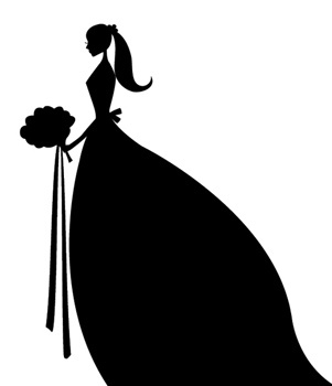 Bridal clipart 3 clip art image for wedding free 2 image