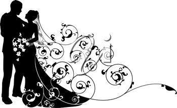 Bridal clipart 3 clip art image for wedding free image