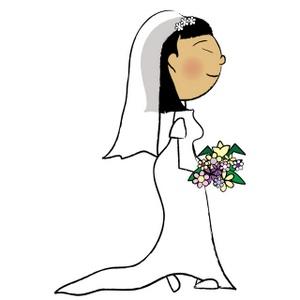 Bridal Good Wedding Bride Clipart Photos-Bridal good wedding bride clipart photos image-2