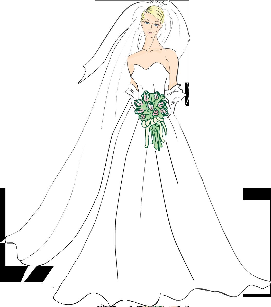 Bridal good wedding bride clipart photos-Bridal good wedding bride clipart photos image-6