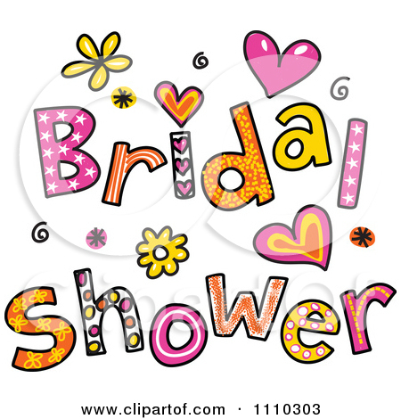 Bridal Shower Flowers Clipart Cliparthut Free Clipart