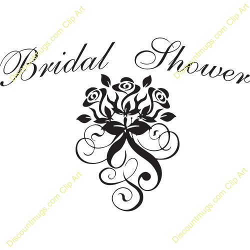 bridal shower clipart for inv