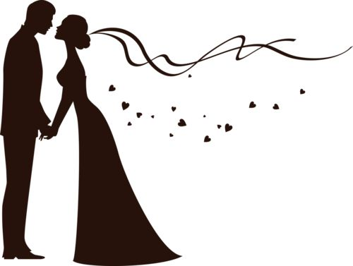 Bride and groom clipart free  - Bride And Groom Clipart