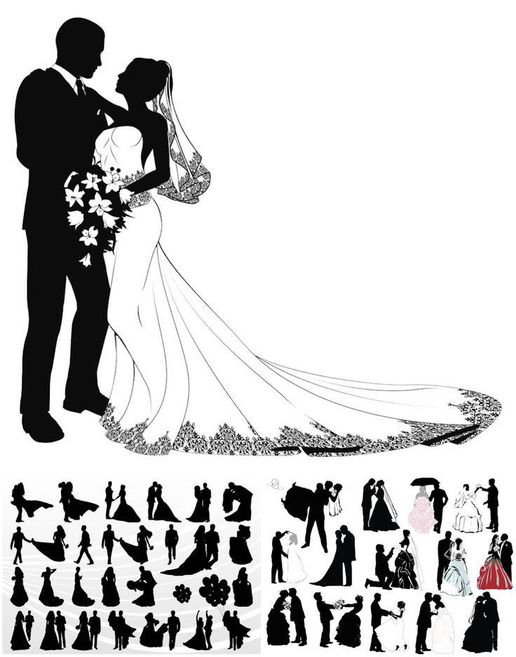 Bride Silhouette Clip Art   Bride Silhou-Bride Silhouette Clip Art   Bride Silhouette Clip Art Free http:/-17