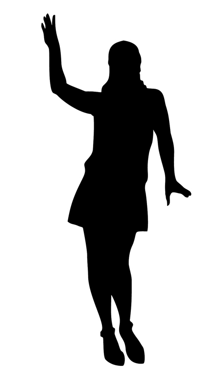 Bridesmaid silhouette clip art free clipart images image