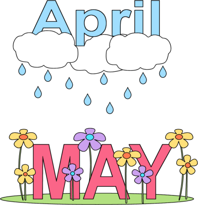 Bring May Flowers Clip Art .