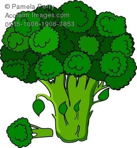 Broccoli Clipart-Clipartlook.com-278