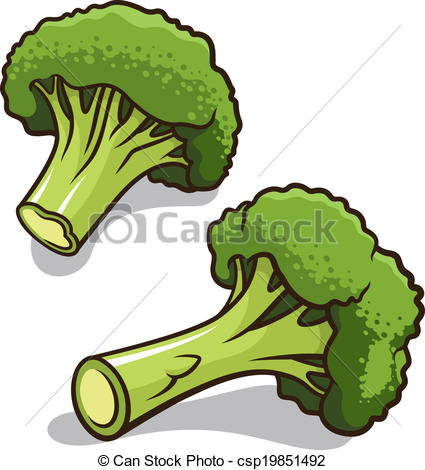 . ClipartLook.com Broccoli vector illustration isolated on a white background