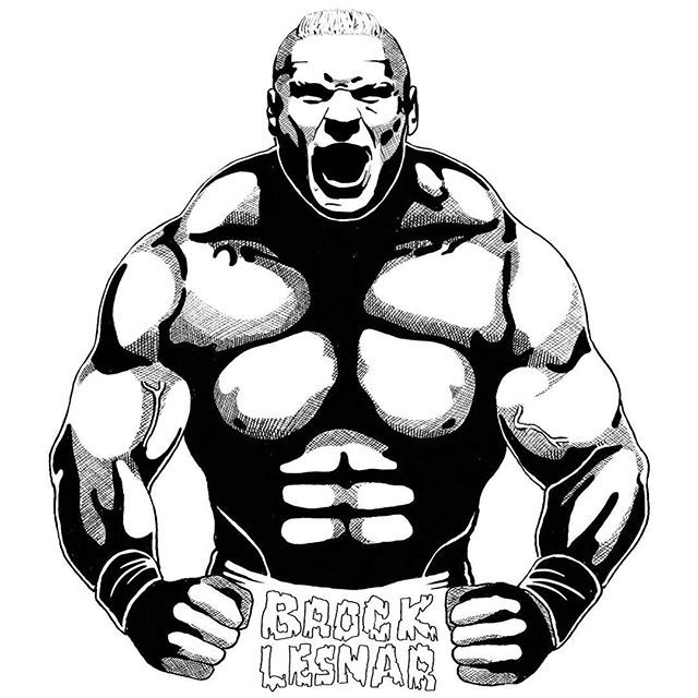 Wrestling Clipart - Brock Les