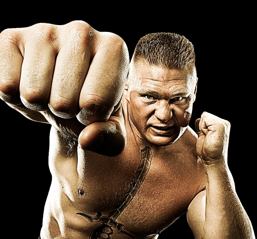 Brock Lesnar Punch-Brock Lesnar Punch-11