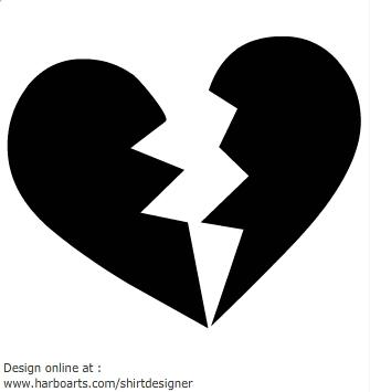 Broen Heart - Vector Clipart-Broen Heart - Vector Clipart-18