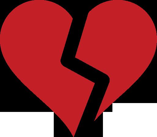Broken Heart Symbol Clip Art - ClipArt Best - ClipArt Best