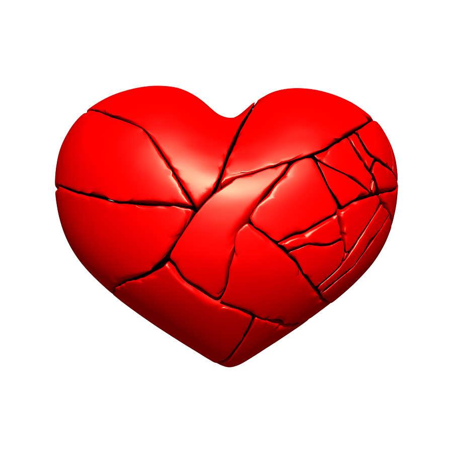 Broken Heart Transparent