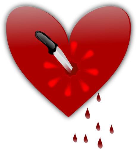 Broken heart vector clip art graphics-Broken heart vector clip art graphics-8