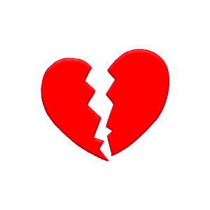 Broken Hearts Free Cliparts .-Broken Hearts Free Cliparts .-5