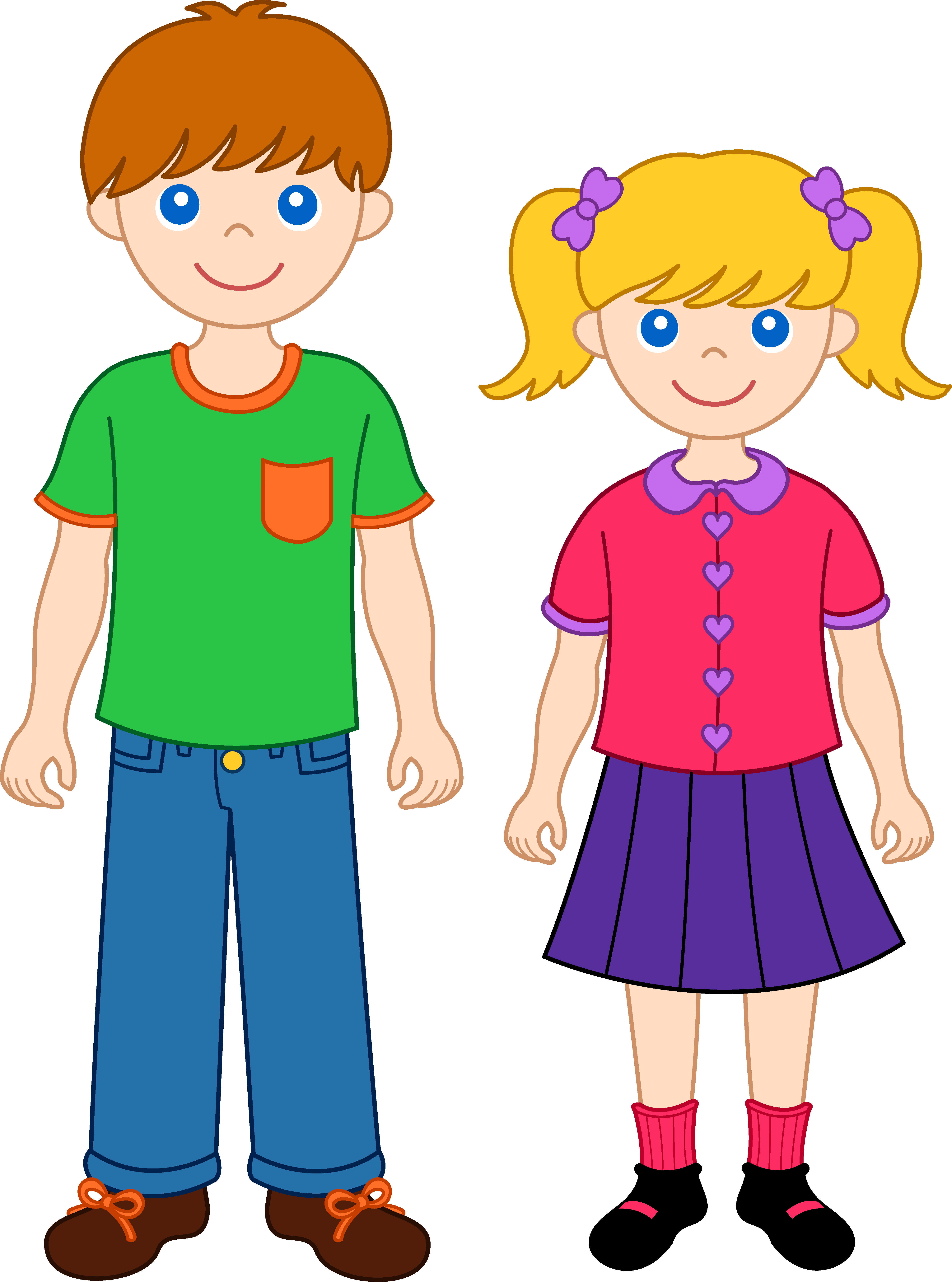 Sisters Clipart