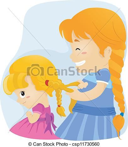 Brother Sister Love Clip Artby Kakigori5/3,522; Big Sister Braids - Illustration of a Big Sister Tying Her.
