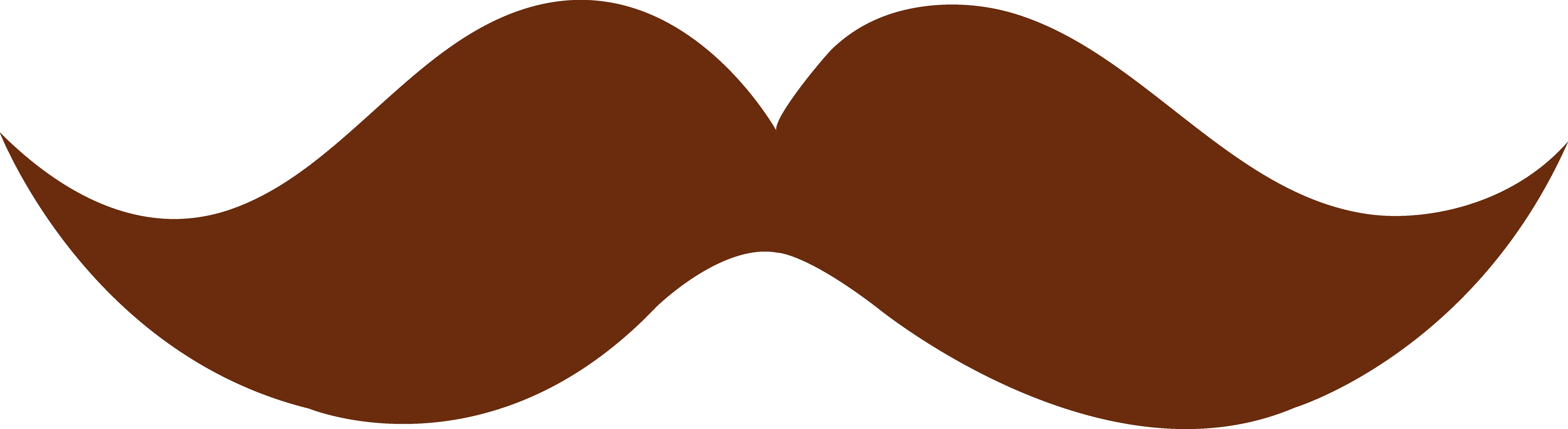 Brown Hair Clipart U0026middot; Moustach-brown hair clipart u0026middot; moustache clipart-7