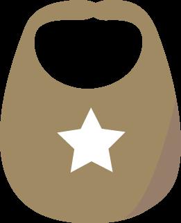 Brown Baby Bib-Brown Baby Bib-13