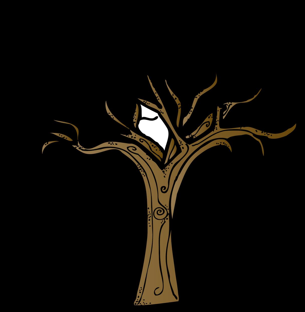 Brown Bare Tree Clip Art ..